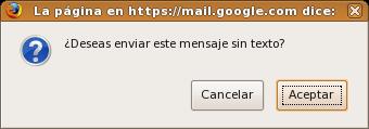 Pregunta de Gmail