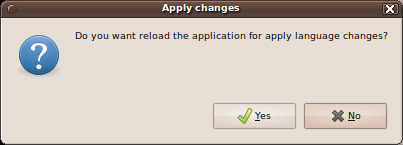 Apply changes
